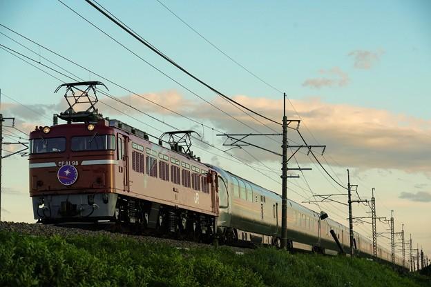 9011レ EF81-98牽引カシオペア紀行@蒲須坂~片岡