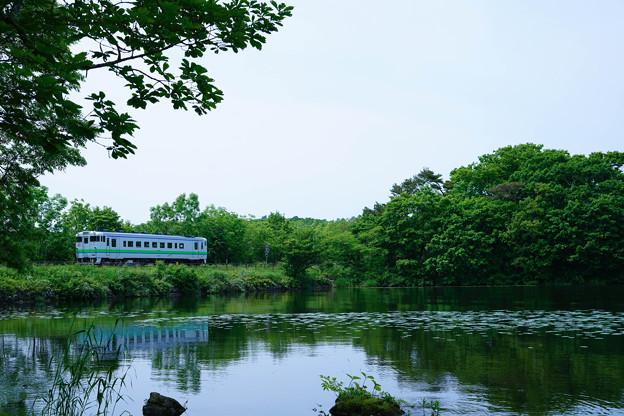 キハ40@大沼公園~赤井川1
