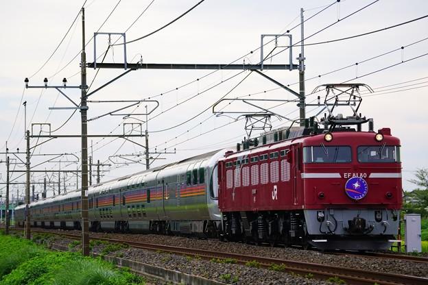 9011レ EF81-80牽引カシオペア紀行@ヒガハス