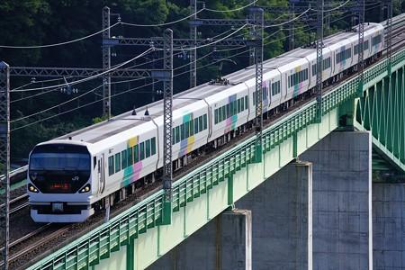 E253系特急あずさ@新桂川橋梁