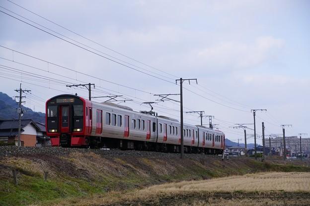 Photos: 813系@小波瀬西工大前~行橋