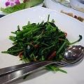 Photos: 香港海鮮飲茶樓 空心菜の炒め