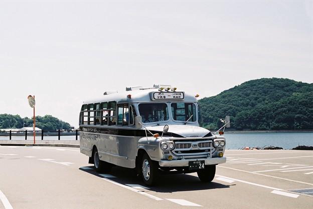 小豆島のボンネットバス(やなぎや観光)1