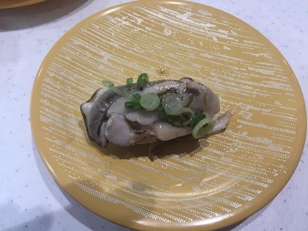 かっぱ寿司の広島県産カキガーリックバターソース直火炙り