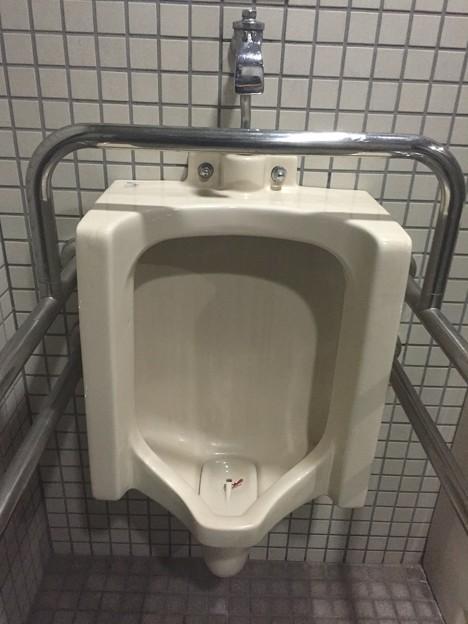 呉市三条3丁目の公園のトイレの小便器