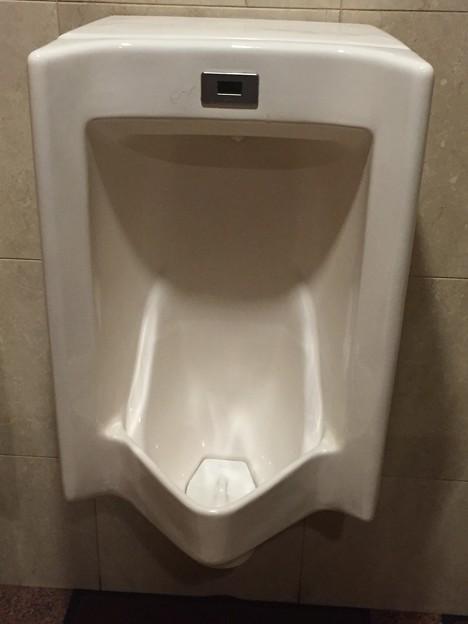 広島・ホテルのホテルニューヒロデンのトイレの小便器