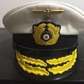 Photos: 旧ドイツ海軍提督用制帽ホワイトトップ