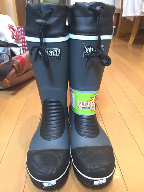 弘進ゴムのクリスターセーフティーSB-3110の安全長靴