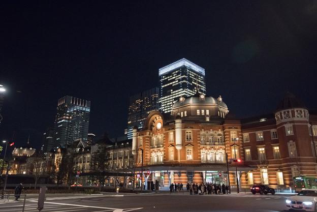 【東京駅南口周辺の眺め】