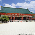 IMG_3354平安神宮・外拝殿(重要文化財)