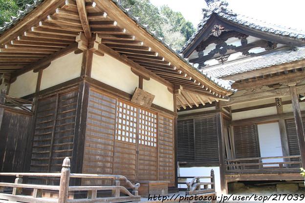 IMG_3657大野寺・礼拝堂と本堂