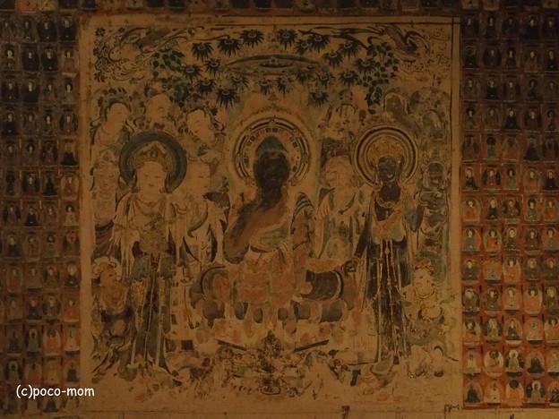 素心伝心展 敦煌莫高窟 壁画 PA240336