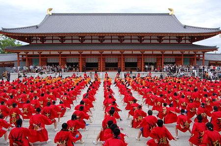 2007 6.3 奈良薬師寺講堂前