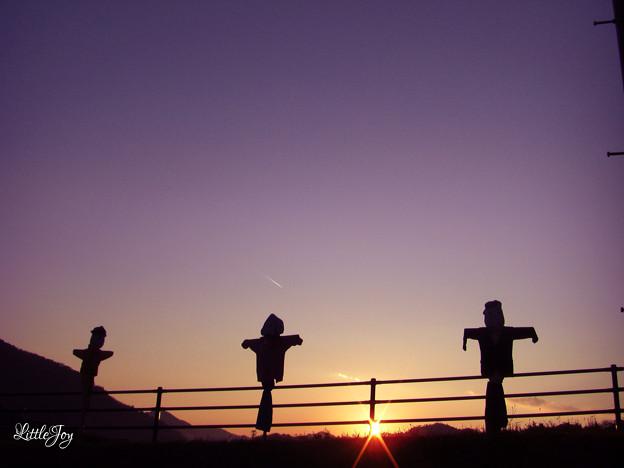 0911京都美山町の案山子