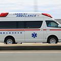 写真: 救急車