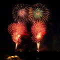 写真: 第64回とりで利根川大花火