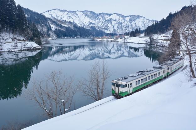 Photos: 寒色の朝