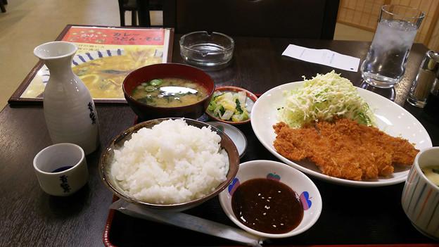 20171224_トンカツ定食
