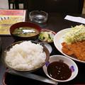 写真: 20171224_トンカツ定食
