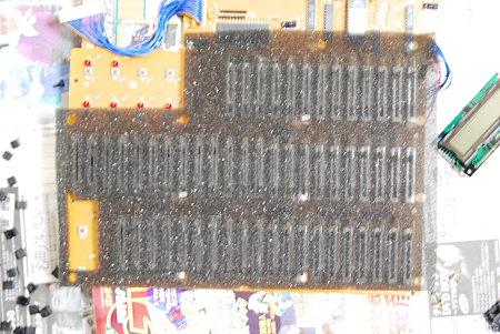 PG-1000 基盤に付いていたゴミ防止のマット