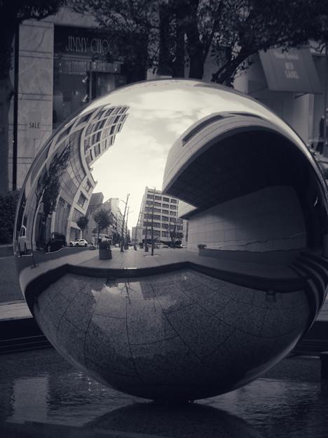 写真: 街角