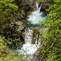 写真: 七ツ釜五段の滝