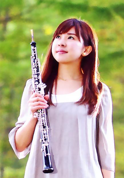 写真: 上原朋子 うえはらともこ オーボエ奏者 Tomoko Uehara