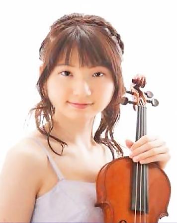 矢花優奈 ヴァイオリン奏者 ヴァイオリニスト