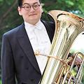 写真: 田村優弥 たむらゆうや チューバ奏者  Yuya Tamura