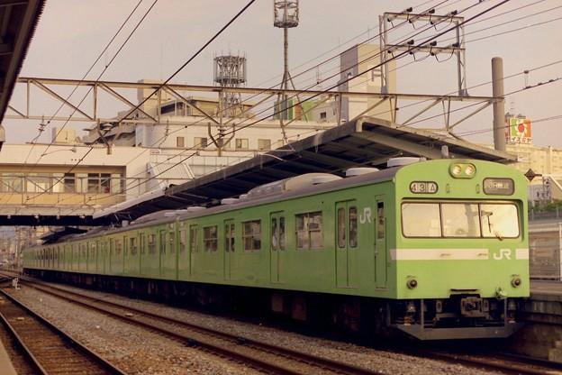 【12】さようなら、関西線103系。