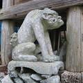 狛犬 八重山神社