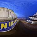 写真: 清水港日の出埠頭 セレブリティ ミレニアム 寄港 360度パノラマ写真