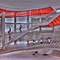 アクトシティ浜松西側 らせん階段 360度パノラマ写真