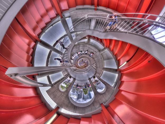 Photos: アクトシティ浜松西側 らせん階段 Little Planet