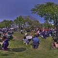 Photos: 駿府城公園 「マロニエマルシェ」 360度パノラマ写真(1)