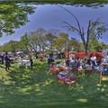Photos: 駿府城公園 「マロニエマルシェ」 360度パノラマ写真(2)