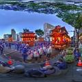 2017年5月4日 浜松まつり 屋台 360度パノラマ写真