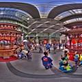 2017年5月4日 浜松まつり ソラモでの御殿屋台展示 360度パノラマ写真(1) HDR
