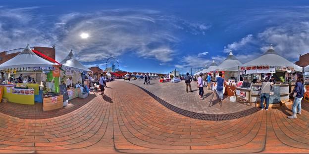 シズオカ×カンヌウイーク2017 「海辺のマルシェ」清水マリンパーク会場 360度パノラマ写真(2)