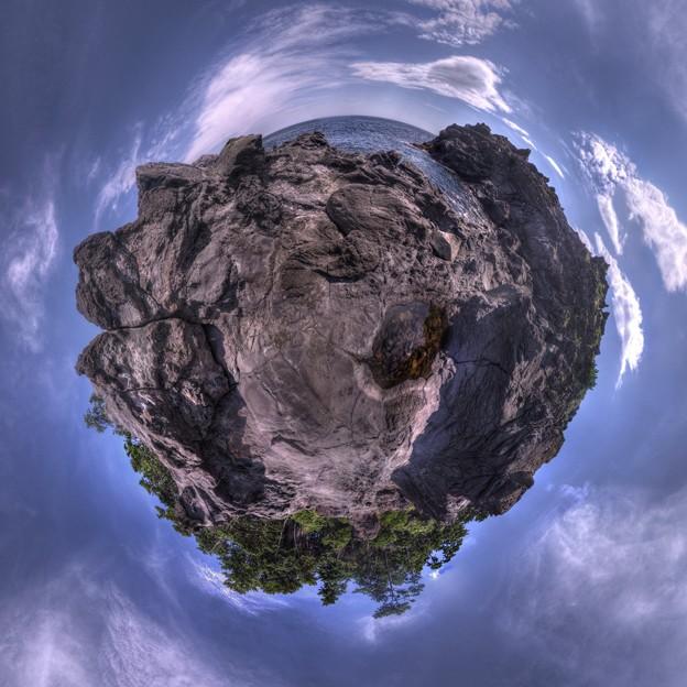 城ヶ崎海岸 かどかけ海岸 Little Planet