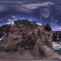 Photos: 城ヶ崎海岸 かどかけ 360度パノラマ写真