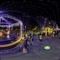写真: 青葉シンボルロード イルミネーション 360度パノラマ写真〈1〉