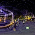 Photos: 青葉シンボルロード イルミネーション 360度パノラマ写真〈1〉