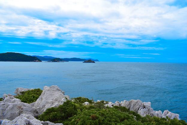 写真: 白崎海岸