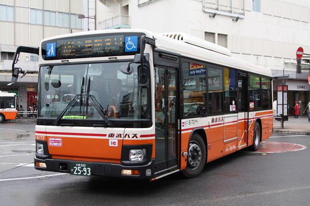東武バス 新型ブルーリボン 5172号車