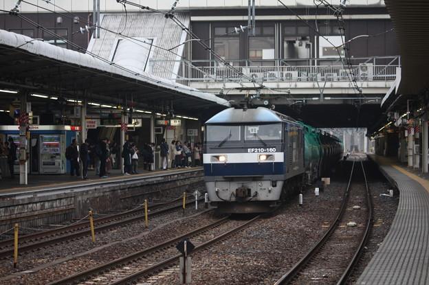 4091レ EF210-160牽引