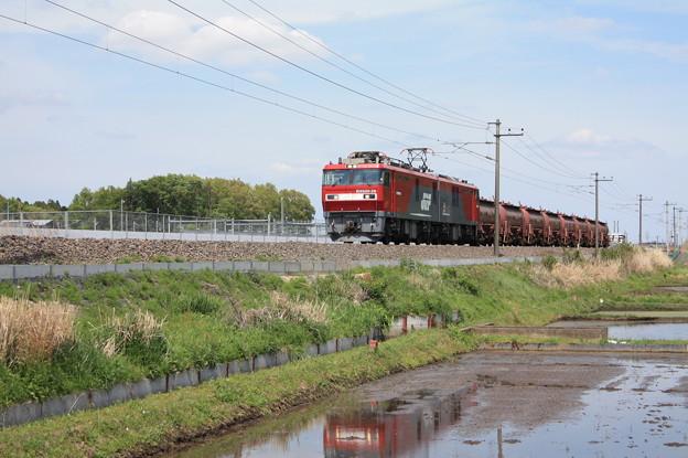 安中貨物 5094レ EH500‐28牽引 (2)