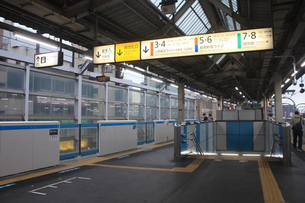 京浜東北線 赤羽駅 ホーム