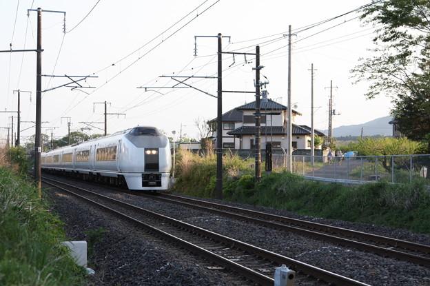 651系K105編成 9425M 快速ぶらり川越号 (1)