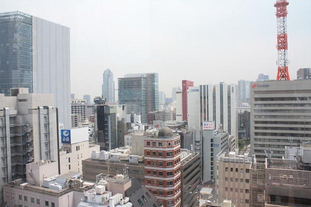 GINZA SIXの屋上階から見た銀座の街並み 12